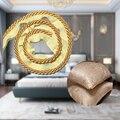 10 м золото толстая веревка кантом для губ шнур отделкой подушки отделкой обивка окантовкой отделка Швейные принадлежности Прямоугольная п...