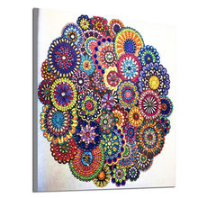 Special-shaped crystal diamond embroidery kit 5D diamond painting mandala
