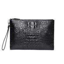 mafeimengge crocodile leather Men's bags high-grade Handbags male Hand caught men envelope bag men clutch bag