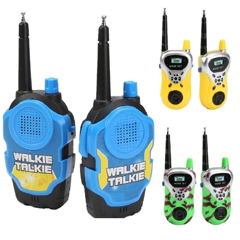 2Pcs Kids Toy Mini Walkie Talkie Hot Sale Intercom Electronic Interphone Transceiver Pmr Woki Toki 2 Way Radio Children Gift