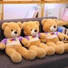 Genuine Teddy Bear Girl Hug Doll Plush Toys Birthday Gift We Baren Bears Elfe on The Shelf Stuffed Animals Stitche Hot