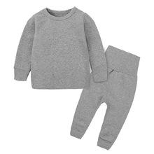 Bawełniane zestawy ubrań dla niemowląt ubranka dla niemowląt noworodka bielizna dla dziewczynek ubrania dla dzieci zestaw dziecięcy piżamy jesienne ubranka dla niemowląt chłopców tanie tanio COTTON W wieku 0-6m 7-12m 13-24m 25-36m 3-6y CN (pochodzenie) Unisex Na co dzień O-neck Swetry Pełna REGULAR Pasuje prawda na wymiar weź swój normalny rozmiar