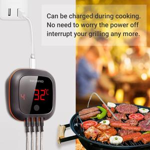Image 4 - Inkbird IBT 4XS Digital Wireless Bluetooth Cooking Oven BBQ Grilling Thermometer With Two/Four Probe and USB rechargable battery