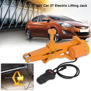 3Ton 12V DC Automotive Car Electric Jack Lifting SUV Van Garage and Emergency Equipment
