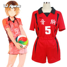 Haikyuu! Nekoma High School #5 1 Kenma Kozume Kuroo Tetsuro Cosplay Kostuum Haikiyu Volley Bal Team Jersey Sportkleding Uniform(China)