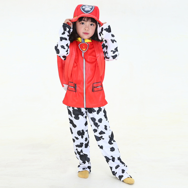 Image 3 - New Kids Carnival Clothing Children Patrol dogs Marshall Chase Skye Cosplay Costume Halloween Party Role Play