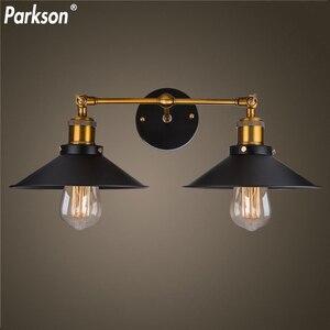 Image 2 - Lampara lampe murale Vintage, éclairage mural, 85/265V, E27, mur LED, miroir, idéal pour la maison, Bar, Loft