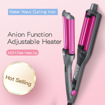 Professional Hair Curler Waves Hair Styler 3 Barrels Adjustable Size DIY Curling Hair Iron Fluffy Waves Salon Styling Tools 1