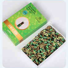 180pcs Mini Moxa Tube Self-Stick Moxibustion Sticker Therapy Smokeless Burner Heating Acupuntura Point Meridian