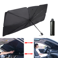 Windshield-Cover Umbrella Car-Sunshade Auto-Protection-Accessories Heat-Insulation Sun-Blind