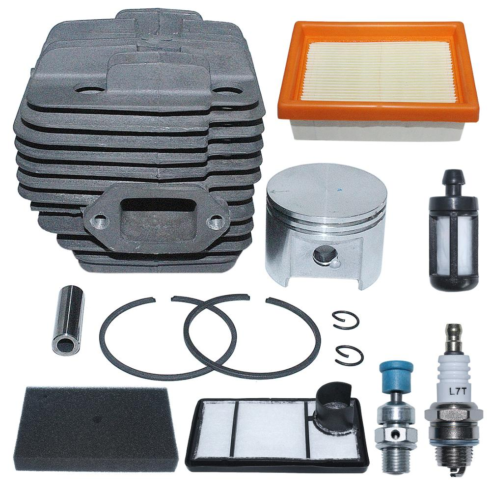 For TS400 Replace 1200 020 Concrete Filter Stihl Cut 49mm Cylinder Saw 4223 Off Fuel Air Kit