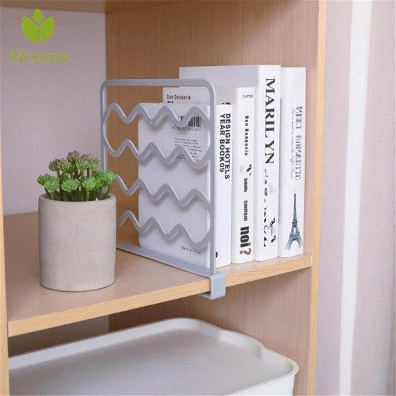 Mrosaa Closet Shelf Dividers Clothes Divider Organizer Wardrobe Shelf Partition Shelves Bookshelf Wire Shelving Estante Repisas