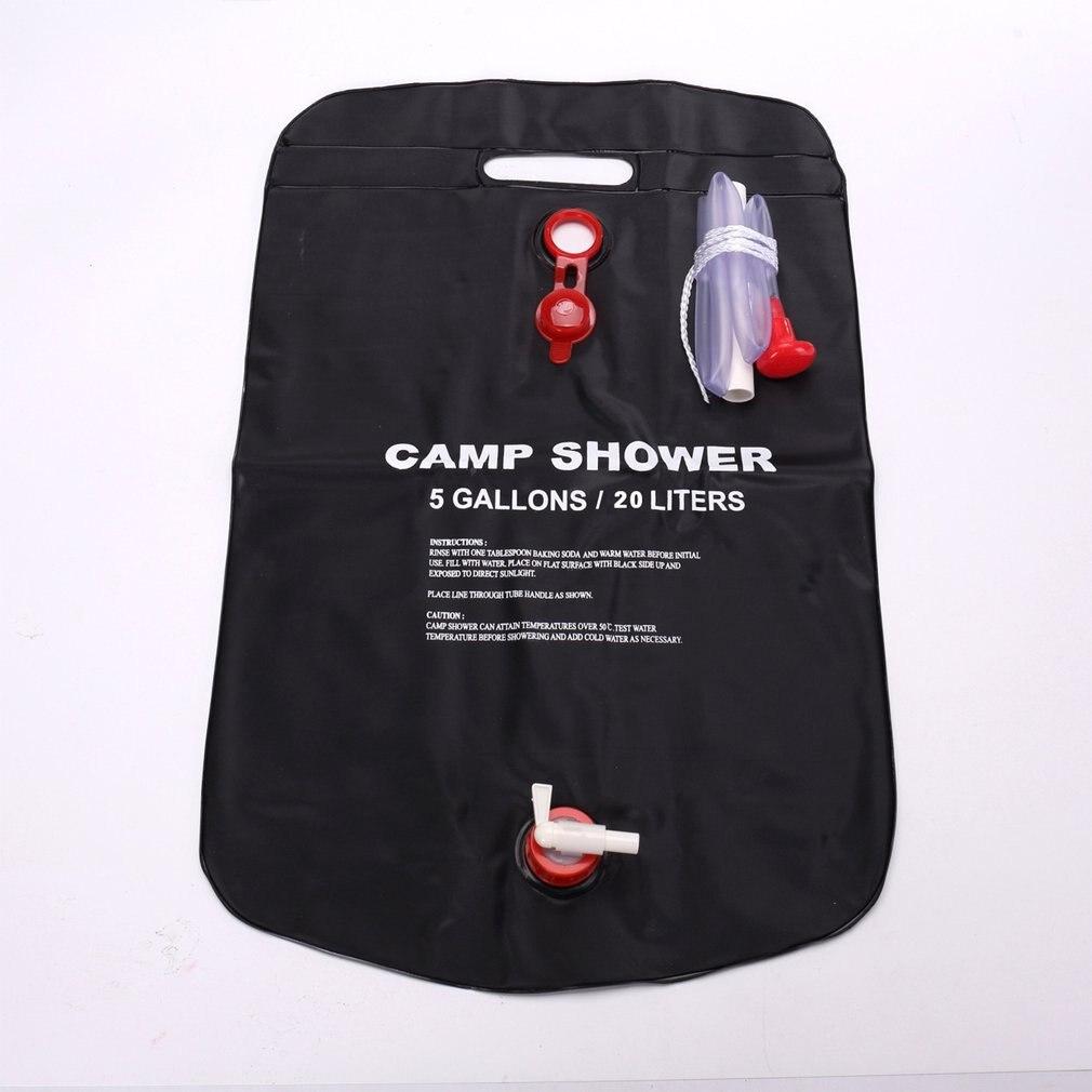 Outdoor Camping 20L Bathing Bag Camping Shower Belt Portable Shower Bag