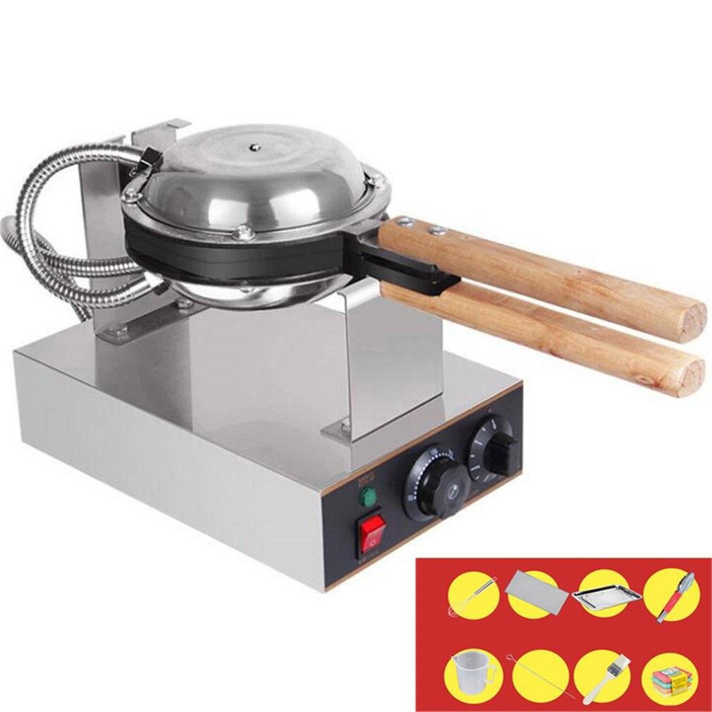Electric 110V /220V Non-stick Pan Egg Bubble Waffle Maker Eggettes Puff Cake Iron Maker Machine Bubble Egg Cake Oven