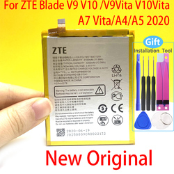 Original 3200mAh Battery For ZTE Blade V9 V10 V9Vita V10Vita A7 Vita A4 A5 2020 Li3931T44P8h806139 Phone High Quality Battery