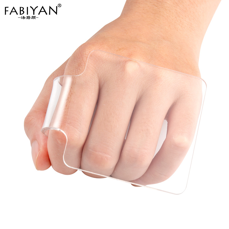 Acrylic Clear Makeup Cream Foundation Eyeshadow Palette Paint  Nail Art Manicure Polish Gel DIY Mixing Water Color Tool