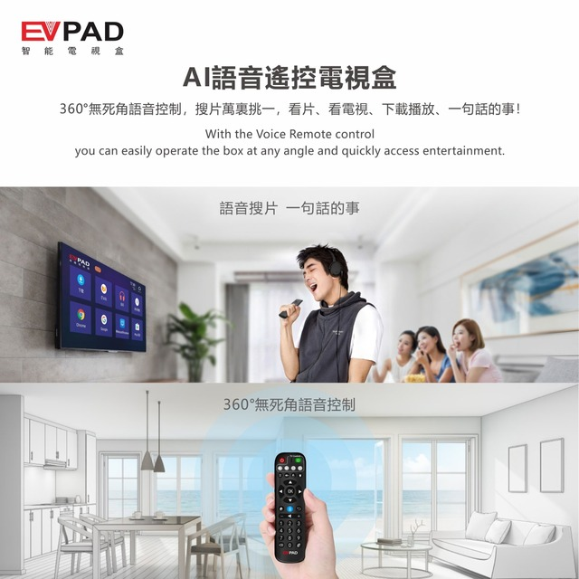 [Genuine]Evbox 5p ev tvbox 5max 4+32/128G ev pad 5s with EVAI voice control best android 10 for Chinese UK Korea Japan SG CA EU 6