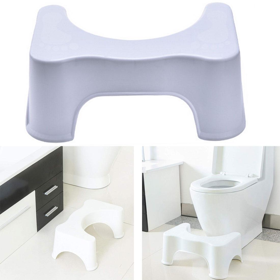 Thickened Non-Slip Bathroom Toilet Step Stool Elderly  Woman Child Stool Heightened Stool Baby Anti-Fall Toilet Stool 2