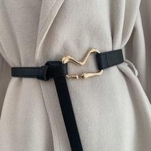 Jeansy hurtowo nowe modne paski dla uczestników w pasie biodrowym z wiązaniem w talii