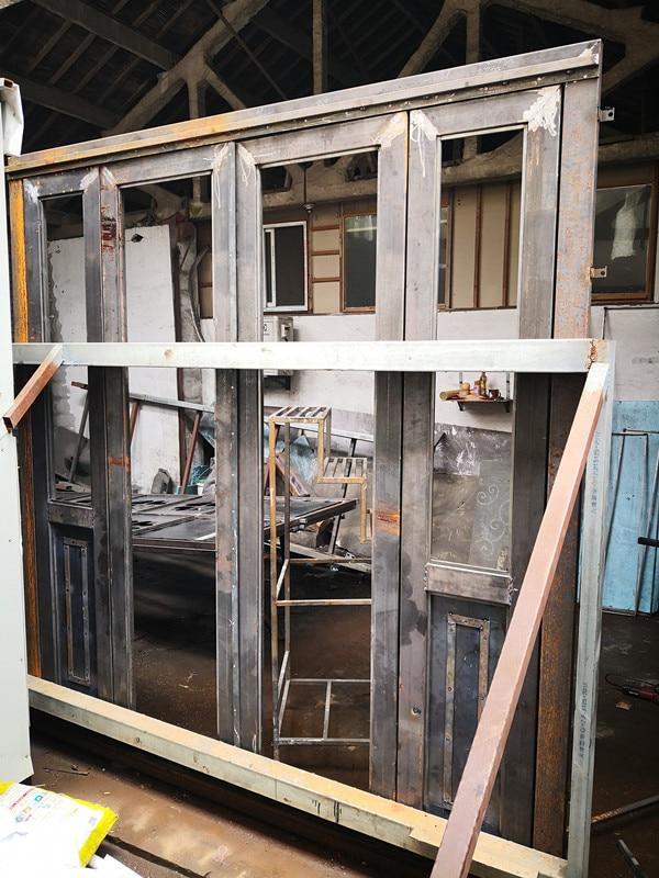 Hench 100% Steel Iron Doors  Model Hc-id33