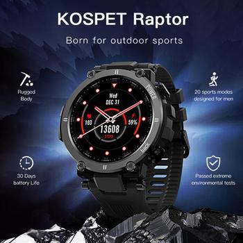 2021 NEW Smart Watch IP68waterproof Men Women Heart Rate Monitor Bluetooth Connect Smartwatch Fitness For KOSPET Raptor 1