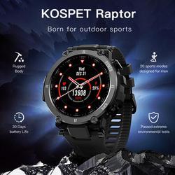 Inteligentny zegarek mężczyźni kobiety pulsometr ip68 wodoodporna opaska monitorująca aktywność fizyczną inteligentny zegar Multi UI tarcze Smartwatch dla KOSPET Raptor