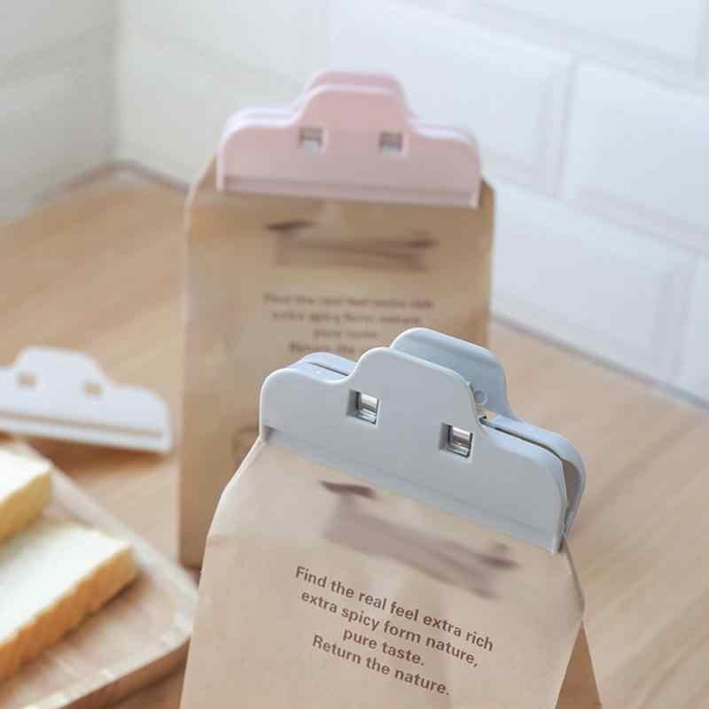 Nowa torba na żywność dla niemowląt mleko klipsy uszczelniające klip w proszku torebka na żywność klips do torebek przenośne plastikowe praktyczne uszczelnienie żywności