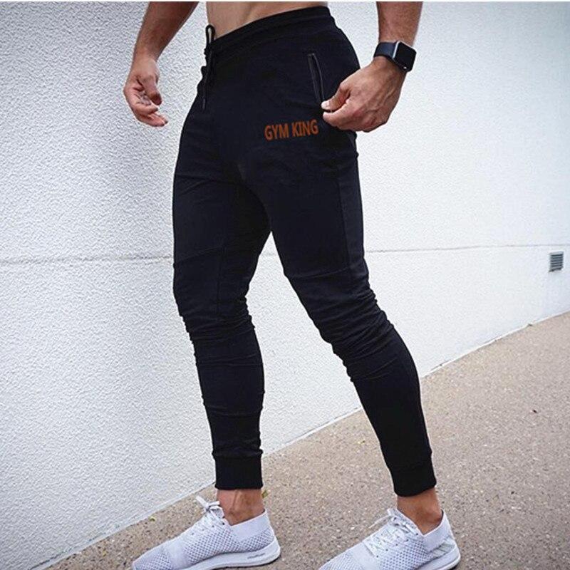 New Mens Cotton Sweatpants Joggers Autumn Winter Man Gyms Fitness Bodybuilding Workout Trousers Men Casual Pencil Pants M-xxxl
