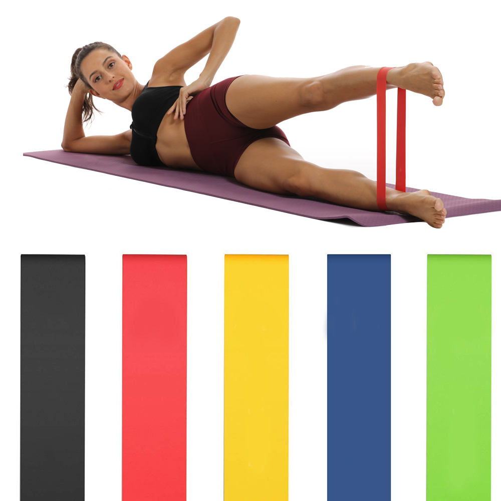 Hot Sale Fitness Yoga Resistance Bands Health Elastic Sport Latex Belt Pull Strap Pilates Sport  Training Strap Fitness Equipmen