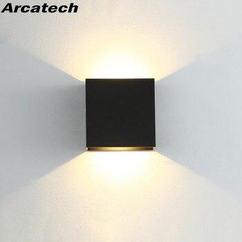 LED Indoor Lighting Wall Lamp Modern Home Decoration Sconce Aluminum AC85-265V For Bath Corridor NR-180 - discount item  60% OFF Indoor Lighting