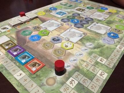 Burgundy Board Game Burgundy Layout Castles Of Farmers Castle Burgundy Classless 4 People