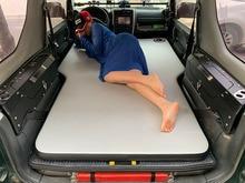 Doppel Einzigen Auto bett, air bett auto für Suzuki Jimny JB43