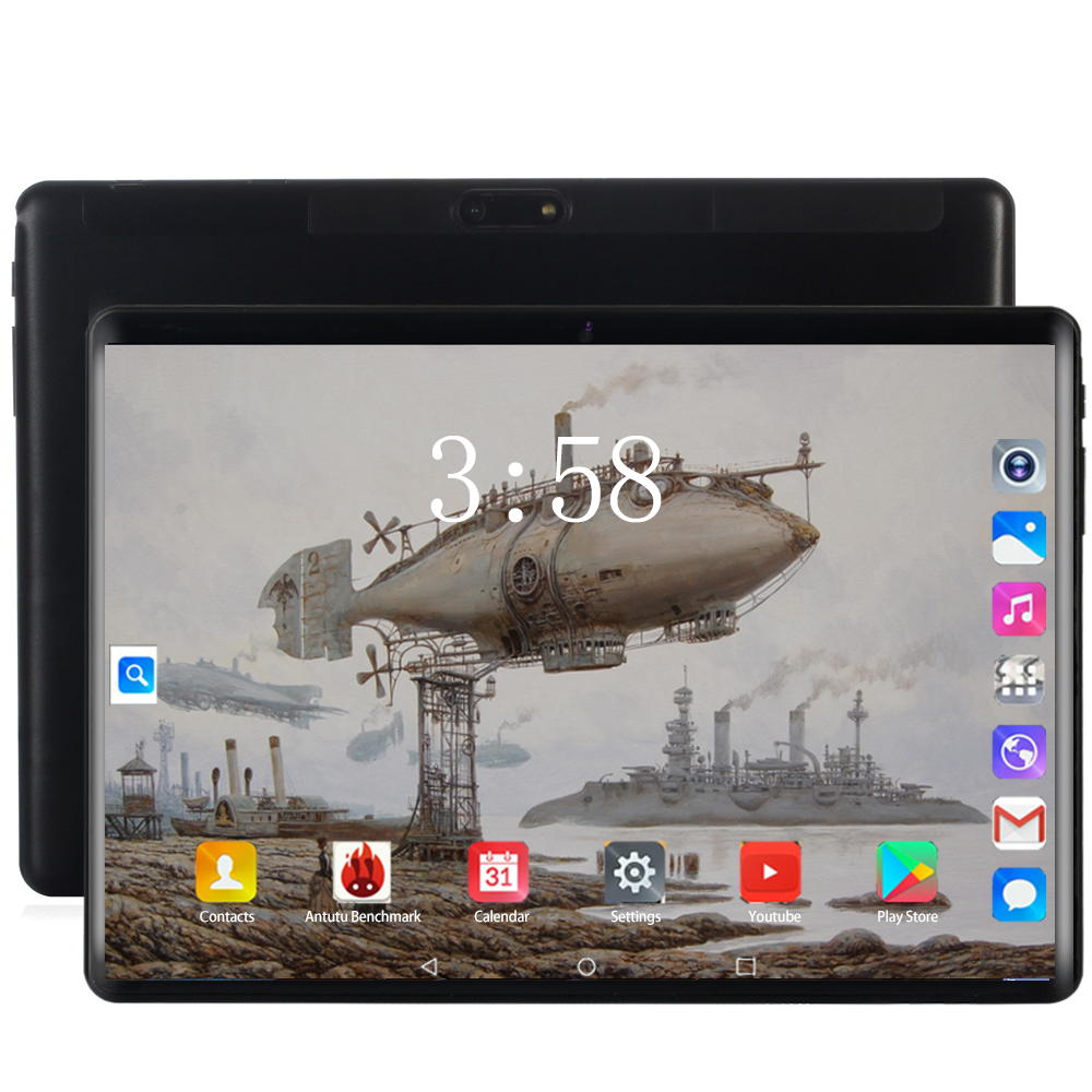 Original Genuine 10.1 Inch Tablet Pc Android 8.0 Octa Core RAM 6GB ROM 128GB 3G/4G LET Dual SIM Card WIFI 8MP Camera Tablets 10