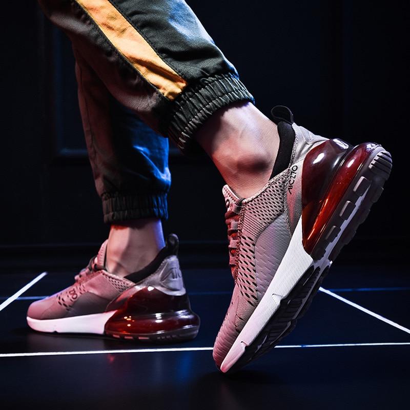 Ha1c8b0eec7e046778987ab04829f358cV Fashion Men Casual Shoes 2019 brand sneakers men Lightweight Lace-up Walking Sneakers trainer Male Footwear plus size 39-47
