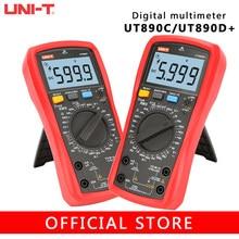 UNI-T ut890d + ut890c verdadeiro rms 6000 contagens ac/dc função ao vivo ncv multímetro digital com luz de fundo lcd handheld