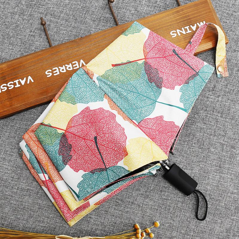 Manufacturers Direct Selling New Style Rain Or Shine Dual Purpose Branch Vinyl Umbrella Summer Parasol UV-Protection 8 Bone Viny