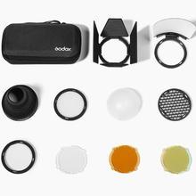 Godox Магнитный круглый головной аксессуар для вспышки для Godox AK-R1 комплект мини фотографии запасные части для Godox H200R v1 flash