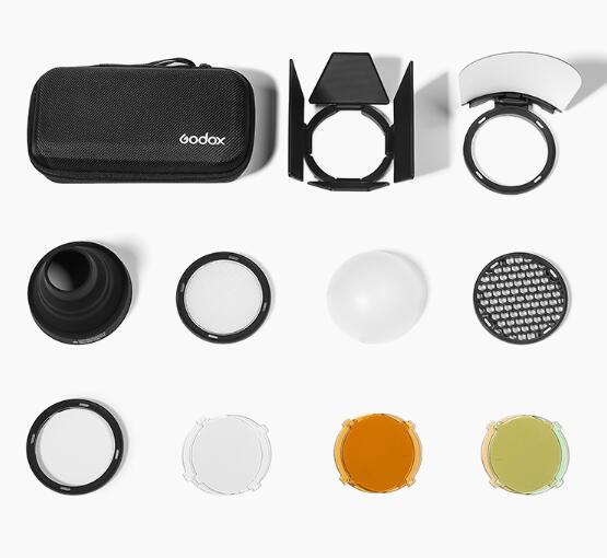 Магнитная круглая головка для фотографий Godox, фотовспышка Godox H200R v1