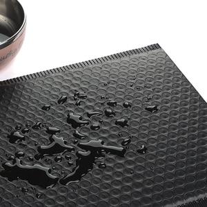 Image 5 - 30Pcs Matte Black Bubble Envelope Self Seal Mailing Aluminum Foil Bags Waterproof Mail Packaging Bubble Mailer