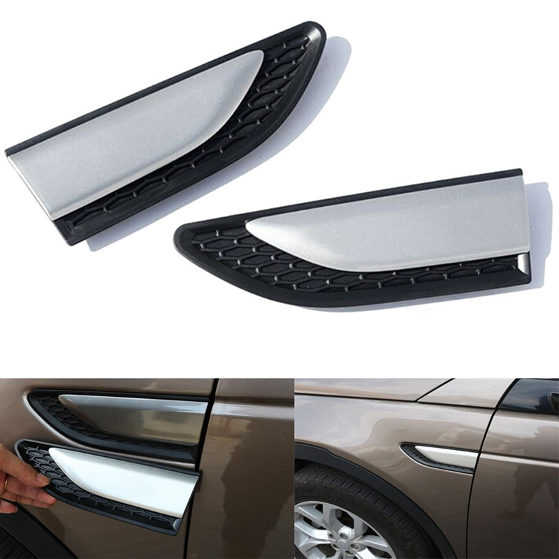 Cooperative Car Fender Body Side Air Vent Cover Trim Accessory For Land Rover Discovery Sport 2015-16 Car-covers