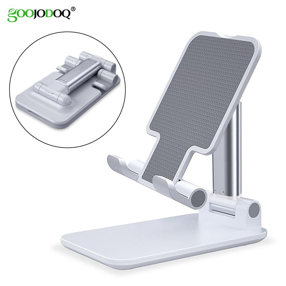 GOOJODOQ For IPad Stand Holder Universal Mini Adjustable Soporte Tablet Holder Stand For Ipad 10.2/10.5 Pro 11 2020 Mini Bracket