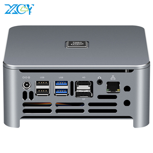 Image 1 - إنتل كور كمبيوتر مصغر i9 9880H i7 9750H i5 9400H 8 النوى 2 * DDR4 M.2 SSD HDMI DP 4K 60fps 5 * USB Type C واي فاي بلوتوث ويندوز 10