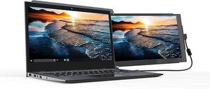 Image 1 - DUEX on the go dual screen Portable Laptop monitor for all Laptops Apple Lenovo multi task simple use lightweight & sleek design