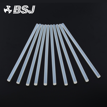 10Pcs/lot Clear 7mm Hot Melt Glue Sticks For Electric Glue Gun DIY Stick 27cm length DIY Craft Album Repair Rod Melt Adhesive 10pcs 7x100mm hot melt glue sticks for 7mm electric glue gun craft diy hand repair tool adhesive sealing wax stick pink