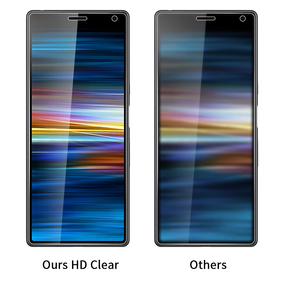 Image 5 - 9H Tempered Glass For Sony Xperia 10 Protective Glass For Sony Xperia 10 Plus XA3 XZ4 1 Tempered Glass Screen Protector Film-in Phone Screen Protectors from Cellphones & Telecommunications