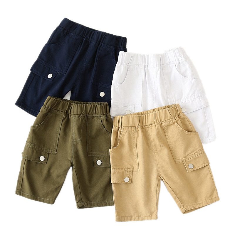 VIDMID Kids Baby Boys Summer Shorts Children Kids Boys Short Trousers Beach Girls Children Cotton Trousers Clothing 7080 11