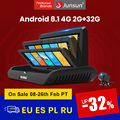 Автомобильный видеорегистратор Junsun E95P, 4G, Android 8,1, ADAS, 2 + 32 ГБ, видеорегистратор FHD 1080P, Автомобильный видеорегистратор с двойным объективом, зе...