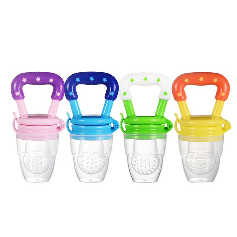Kids Nipple Fresh Food Milk Nibbler Feeder Feeding Safe Baby Supplies Nipple Teat Pacifier Bottles