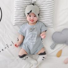 2020 nuevo bebé niñas niños romper moda verano algodón mono de bebé 6-24 meses HV104