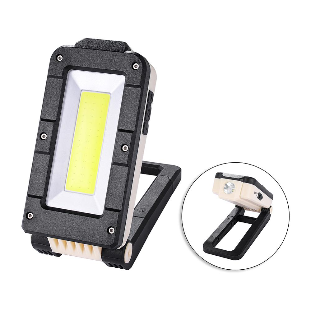 LED Rechargeable Work Light, Portable Multifunction Outdoor Camping Light, Magnetic Base & Hanging Hook, 15W 1200Lumens Super Br